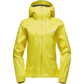 Black Diamond Fineline Stretch Rain Shell Jacket Damen sunflare